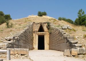 L'ingresso del Tesoro di Atreo