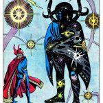Il lavoro di Ditko sulle storie di Dottor Strange