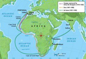 Le grandi navigazioni dei portoghesi