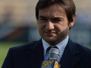 Fabio Caressa, voce-guida delle telecronache calcistiche di Sky