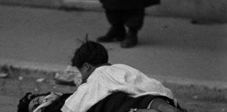 """Una celebre scena di """"Roma città aperta"""", capolavoro di Roberto Rossellini"""