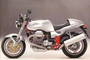 La prima versione della Moto Guzzi V11