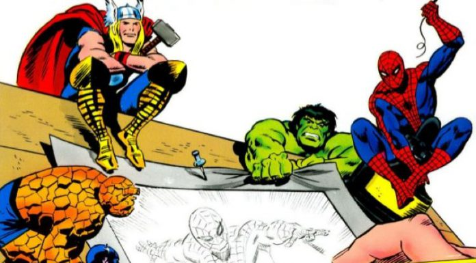 Una parte della copertina di How to Draw Comics the Marvel Way, di Stan Lee e John Buscema