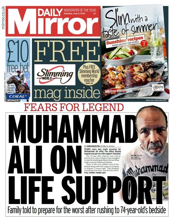 Il Daily Mirror, tabloid di sinistra