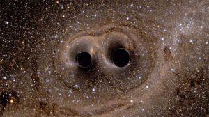 Lo scontro tra buchi neri simulato al computer