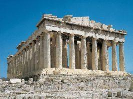Il Partenone di Atene, il più celebre edificio dell'antica Grecia