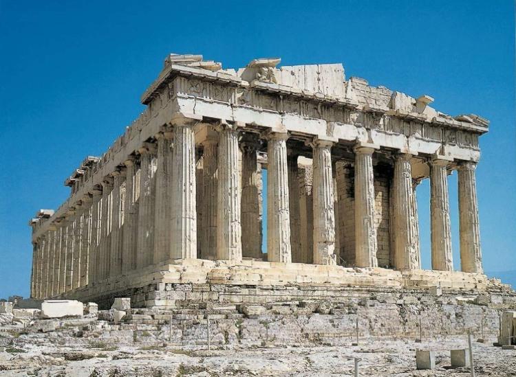 Cinque grandi esempi di architettura greca antica cinque for Architettura classica