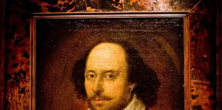 Un celebre ritratto di William Shakespeare