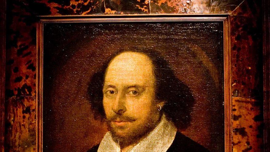 Un celebre ritratto di William Shakespeare