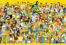 Il corposissimo cast de I Simpson