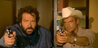 Bud Spencer e Terence Hill in azione