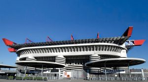Lo stadio Meazza o San Siro di Milano (foto di Jose Luis Hidalgo R. via Flickr)