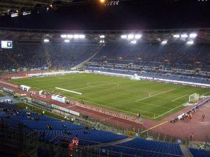 L'Olimpico di Roma (foto di Alexdevil via Wikimedia Commons)