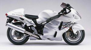 La Suzuki Hayabusa, la più veloce moto degli anni '90