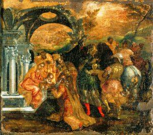 Adorazione dei Magi, dipinto giovanile di El Greco