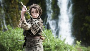 Arya Stark, interpretata da Maisie Williams