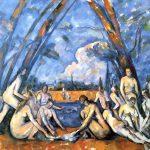 Le grandi bagnanti, una delle ultime e più importanti opere di Cézanne