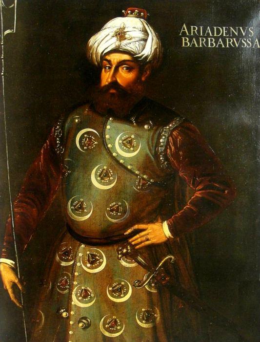 Barbarossa, pirata ottomano che terrorizzò l'Europa del Cinquecento