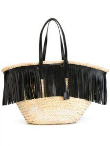 La borsa paglia e pelle di Saint Laurent