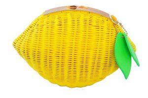 La borsa a forma di limone da Etsy