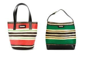 Le belle borse di paglia colorate di Marni