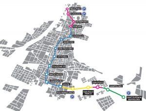 La metropolitana a Brescia