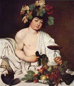 Il Bacco dipinto da Caravaggio nel 1595