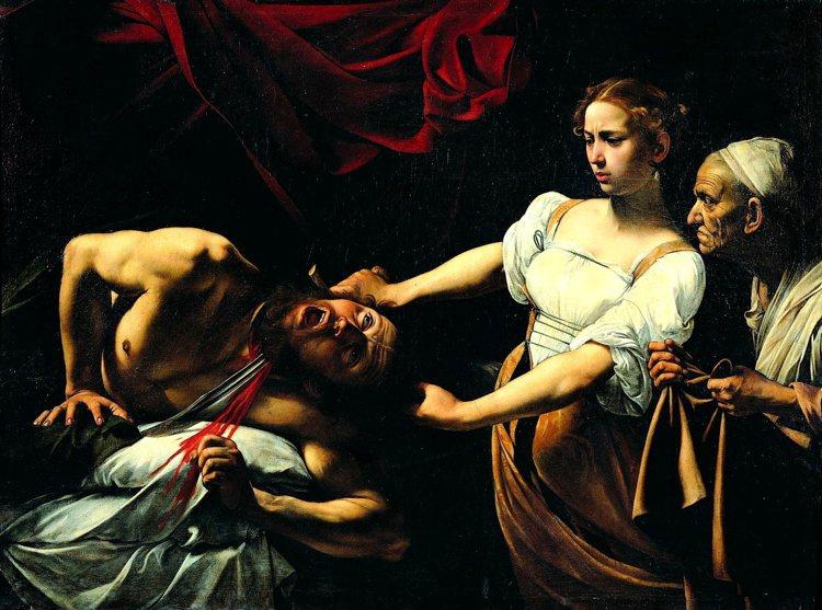 """""""Giuditta e Oloferne"""", una delle opere più macabre del pittore lombardo"""