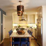Cucina e sala da pranzo dopo le scelte dei fratelli Scott