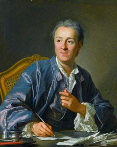 Il curatore dell'Enciclopedia, Denis Diderot