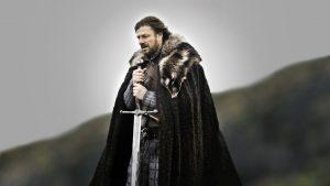 """Eddard """"Ned"""", il capofamiglia della casata Stark ne Il trono di spade"""