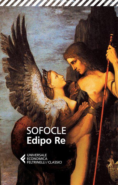 L'edizione Feltrinelli dell'Edipo re di Sofocle, una delle più celebri tragedie greche