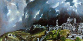 Particolare della Veduta di Toledo, una delle opere più celebri di El Greco