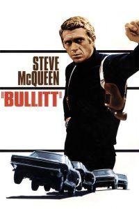 Steve McQueen nella locandina di Bullitt