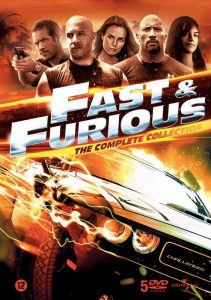 I protagonisti della saga di Fast & Furious, dedicata al mondo delle auto