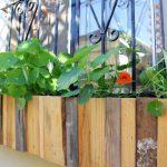 Vasi facili da realizzare, per unire l'hobby del legno con quello del giardinaggio