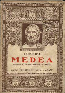 """Una antica edizione della """"Medea"""" di Euripide"""