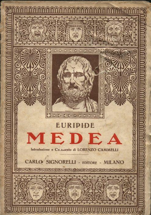 Una antica edizione della Medea di Euripide