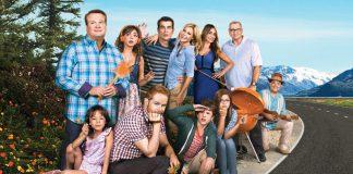 Il cast principale di Modern Family, bella serie TV della ABC