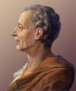 Il profilo di Montesquieu