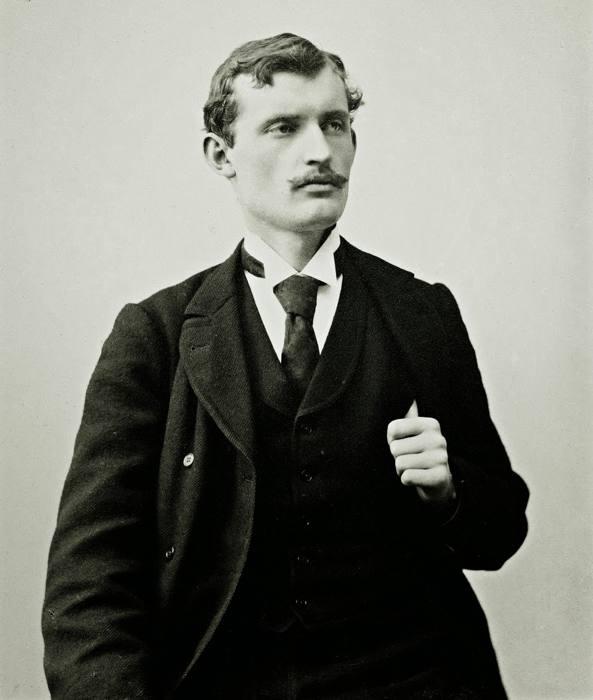 Edvard Munch da giovane
