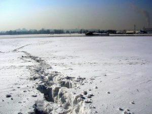 L'Ob' ghiacciato (foto di Summ via Wikimedia Commons)