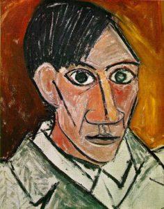 Autoritratto del 1907 di Pablo Picasso