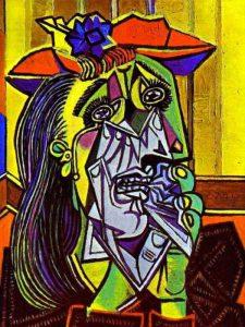 Donna che piange, una delle opere più celebri di Pablo Picasso