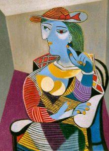 Donna seduta di Pablo Picasso