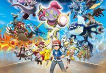 Ash Ketchum e alcuni dei personaggi della saga dei Pokémon