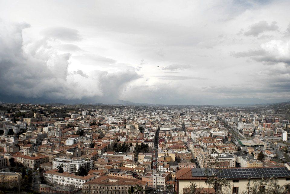 Il panorama di Cosenza