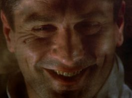 Robert De Niro in C'era una volta in America, nella scena in cui siamo portati a pensare che il film sia tutto un sogno