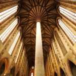 L'interno della Chiesa dei Giacobini a Tolosa