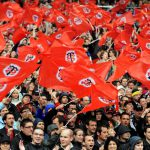 I tifosi dello Stade Toulousain